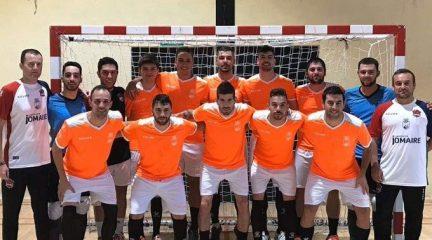 La AD Collado Villalba se coloca líder de la Tercera División de Fútbol Sala tras golear por 6-1 al Distrito III