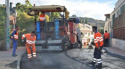 Mañana comienza una nueva fase de la Operación Asfalto que afectará a 30 calles de Torrelodones
