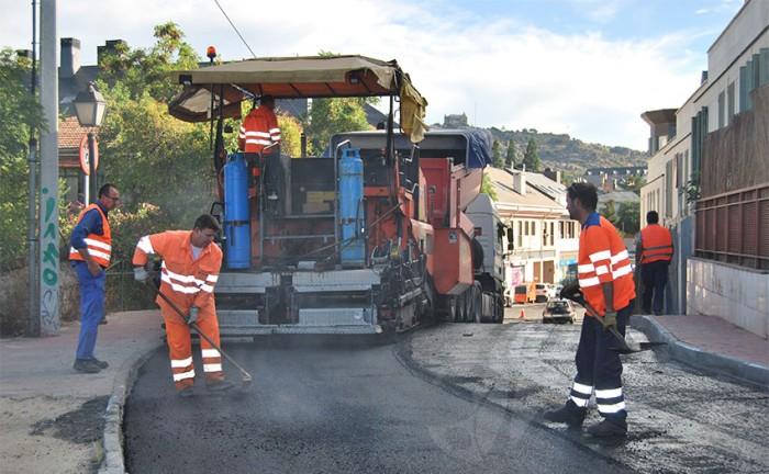 asfaltado torrelodones
