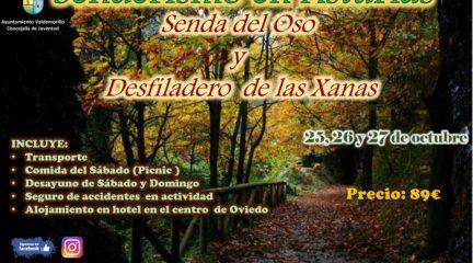 El área de Juventud de Valdemorillo organiza un fin de semana de senderismo en Asturias