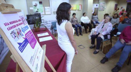 Collado Villalba celebra el Día de la lucha contra el cáncer de mama con una charla
