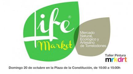 El domingo 20 de octubre Torrelodones celebra el Mercadillo Ecológico Life Market