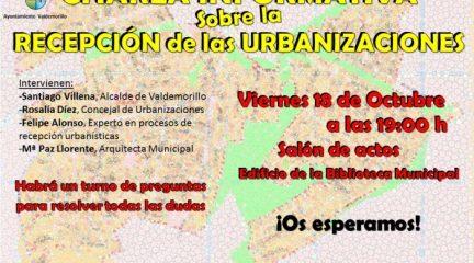 El Ayuntamiento de Valdemorillo organiza un encuentro para abordar la futura recepción de las urbanizaciones