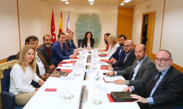 reunión alcaldes M-607