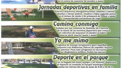 """Senderismo, pilates o deporte en familia, en la tercera edición del programa """"Robledo en Activo"""""""