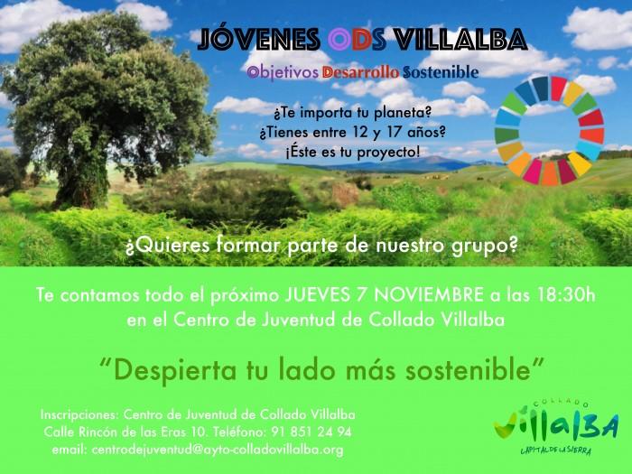 cartel jovenes ODS Villalba
