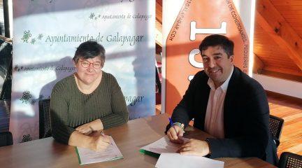 El Ayuntamiento de Galapagar firma un convenio de colaboración con la Asociación de Comerciantes 1523