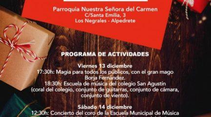 El mercadillo navideño regresa a la parroquia de Los Negrales del 13 al 15 de diciembre
