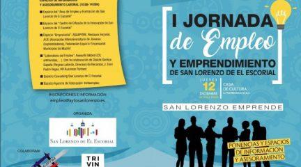 El Ayuntamiento de San Lorenzo de El Escorial organiza su primera Jornada de Empleo y Emprendimiento