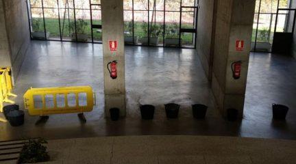 Galapagar en Común-IU denuncia los problemas por goteras y humedades en el Centro Cultural La Pocilla