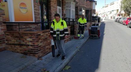 """El Ayuntamiento de Valdemorillo tendrá en cuenta la opinión de los vecinos para """"mejorar entre todos"""" el servicio de limpieza"""