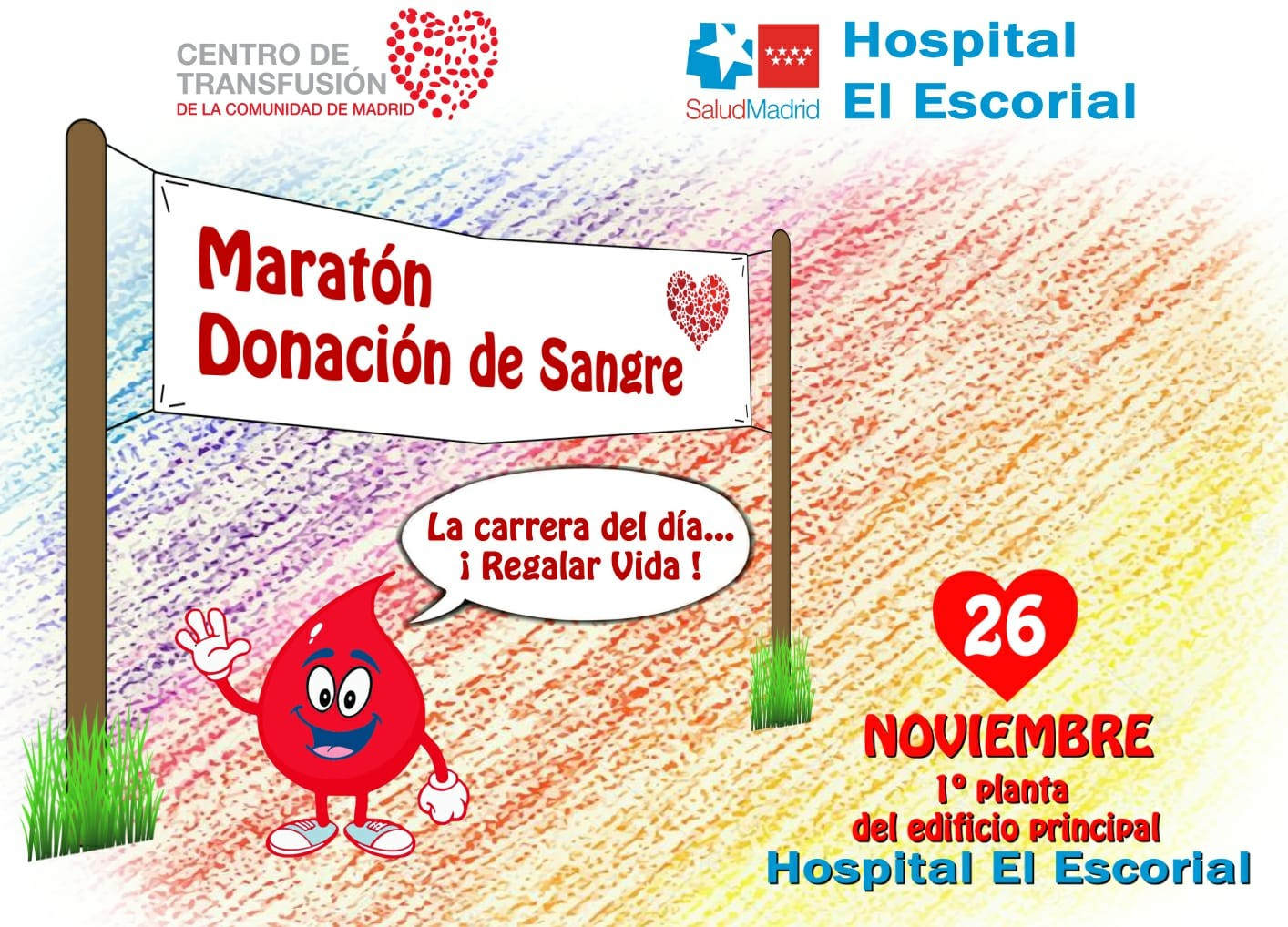maratón donación de sangre