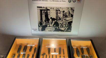 Santo Domigo de la Calzada acoge una exposición sobre minería con más de un centenar de herramientas cedidas por Alpedrete