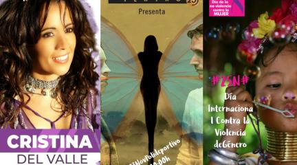 Cristina del Valle (Amistades Peligrosas) dirige en Robledo una charla-debate sobre violencia de género