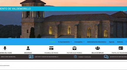 El Ayuntamiento de Valdemorillo estrena web: más moderna, intuitiva y accesible
