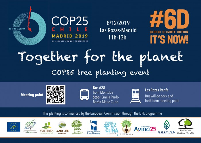 COP25 planting Las Rozas