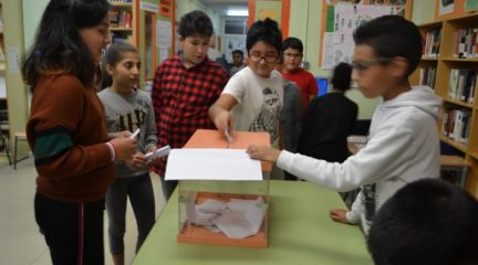 Los centros escolares de Collado Villalba eligen a los vocales de la Comisión de Infancia y Adolescencia