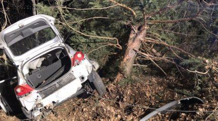 Muere una mujer al perder el control de su vehículo y chocar contra un árbol en Los Molinos