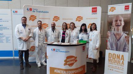 El Hospital de Villalba se presenta como punto oficial de registro de donantes de médula ósea