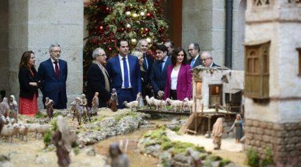 La 'Navidad en Sol' llega este año con el Belén más grande instalado hasta ahora en la Real Casa de Correos