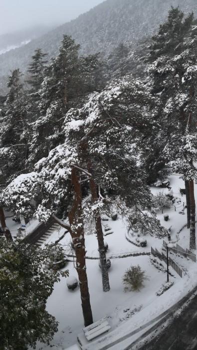hospital fuenfria nieve