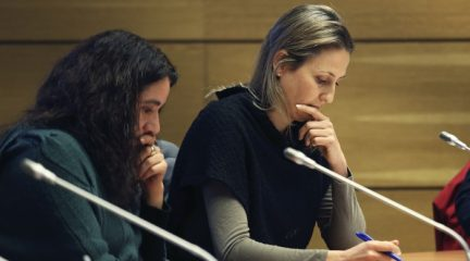"""Cristina Toral, portavoz de Más Collado Villalba: """"No descarto la moción de censura. Hay ciertas formas de actuar que no se pueden consentir"""""""