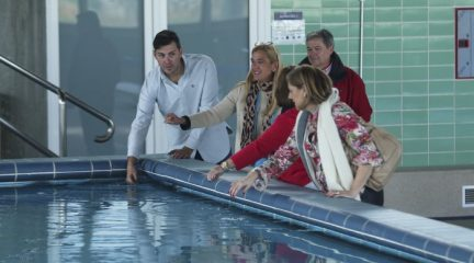 La apertura de la antigua piscina municipal de Collado Villalba dará paso a las obras en el otro vaso del Centro Acuático