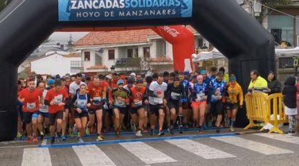 Las Zancadas Solidarias de Hoyo de Manzanares recaudan 6.500 euros para COEM