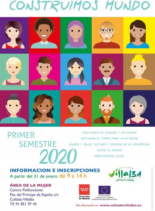 actividades mujer primer semestre 2020