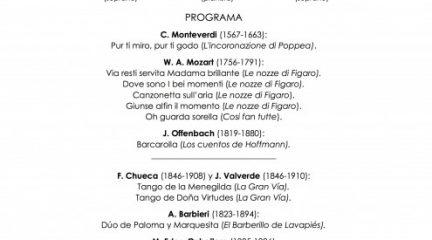 La soprano Cecilia Lavilla Berganza, este sábado en el Concierto Estelar de Año Nuevo en Robledo de Chavela