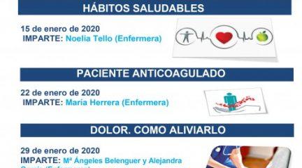 Continúan los talleres gratuitos de la Escuela de Cuidadores del Hospital de Guadarrama
