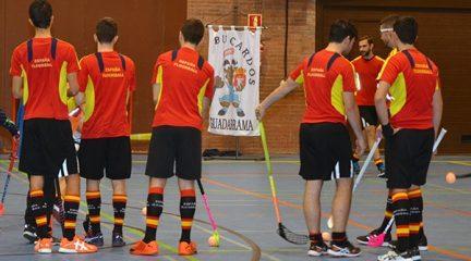 Guadarrama acoge este sábado el último entrenamiento de la Selección Española de Floorball antes de poner rumbo a Letonia