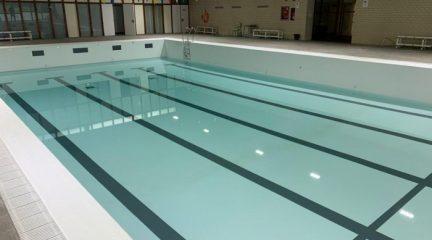 Concluye la primera fase del proyecto de arreglo de la piscina cubierta de Valdemorillo