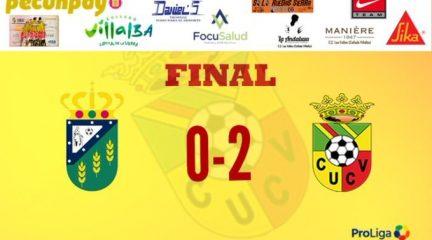 El Unión Collado Villalba responde a las goleadas de Torrelodones y Colmenar con otra victoria en La Cañada (0-2)