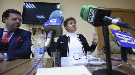 """""""Tras ocho años, la pesadilla ha terminado"""", ha dicho la ex alcaldesa de Alpedrete, Marisol Casado, sobre la anulación de sus siete años de inhabilitación"""