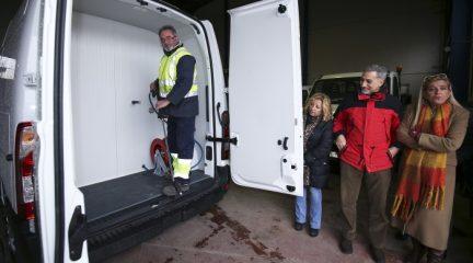Se presenta la maquinaria adquirida por el Ayuntamiento de Collado Villalba para el nuevo contrato de limpieza