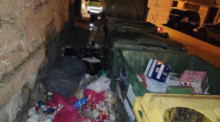 Evitar los vertidos de basura en la vía pública, propósito de año nuevo en Valdemorillo