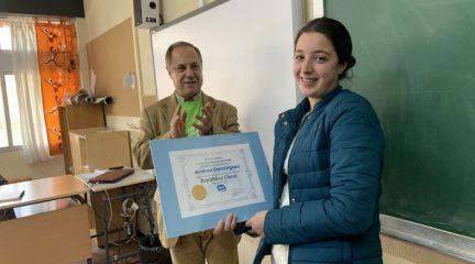 Una joven de El Boalo recibe una beca para estudiar un curso escolar en República Checa