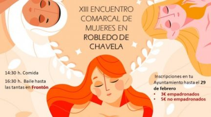 Robledo de Chavela albergará el domingo 7 de marzo XIII Encuentro Comarcal de Mujeres