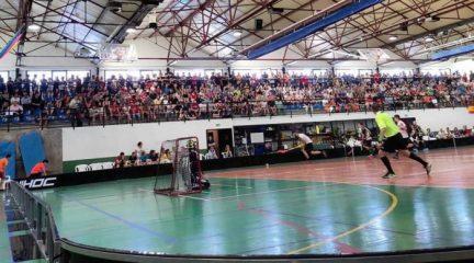 Navaarmado acoge el clásico del floorball español entre El Escorial y el Leganés, los campeones de Copa y Liga Oro