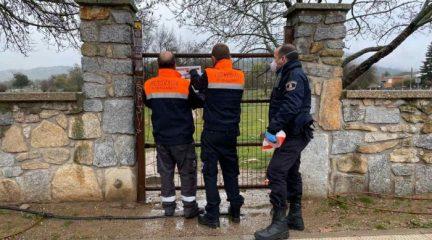Primeras sanciones en Moralzarzalzal por incumplir el decreto que obliga a no salir de casa