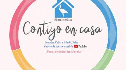 El Ayuntamiento de Las Rozas pone en marcha el canal Contigo en Casa con propuestas de Deporte, Salud, Cultura y Ocio para seguir desde casa