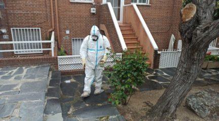 Valdemorillo extiende los trabajos de limpieza y desinfección a las 16 grandes urbanizaciones de la localidad
