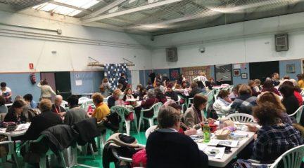Éxito del segundo Encuentro de Patchwork de El Escorial, con más de 150 personas