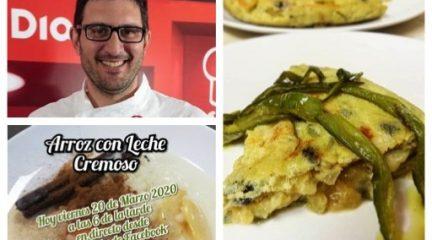 """Recetas en directo para pasar la cuarentena de la mano de """"Cocinando en Guadarrama"""""""