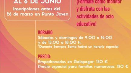 El Punto Joven de Galapagar abre el plazo de inscripción para el curso de monitor de ocio y tiempo libre