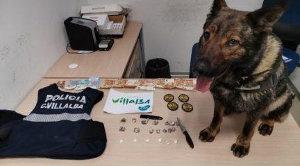 La Policía Local de Collado Villalba detiene en los últimos días a tres personas por tráfico de drogas