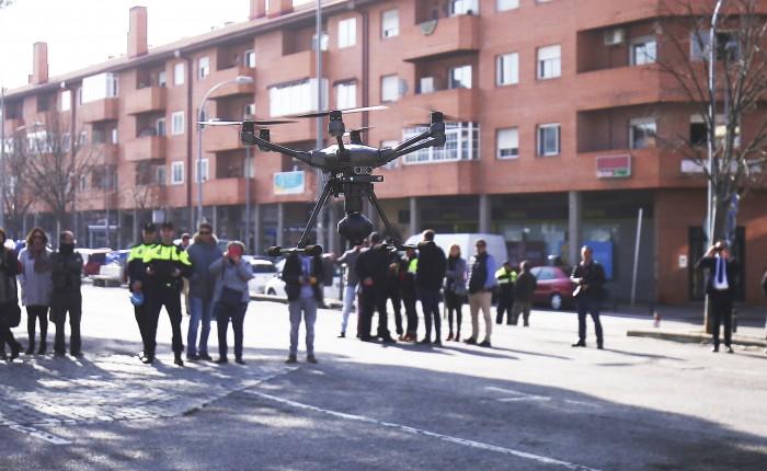 drones collado villalba