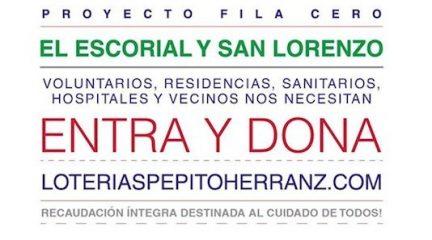"""Loterías Pepito Herranz pone en marcha una """"fila cero"""" para ayudar contra el coronavirus"""
