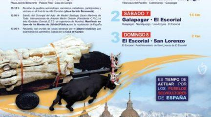 Una marcha hasta San Lorenzo de El Escorial recordará el papel de los carreteros en la construcción del Monasterio
